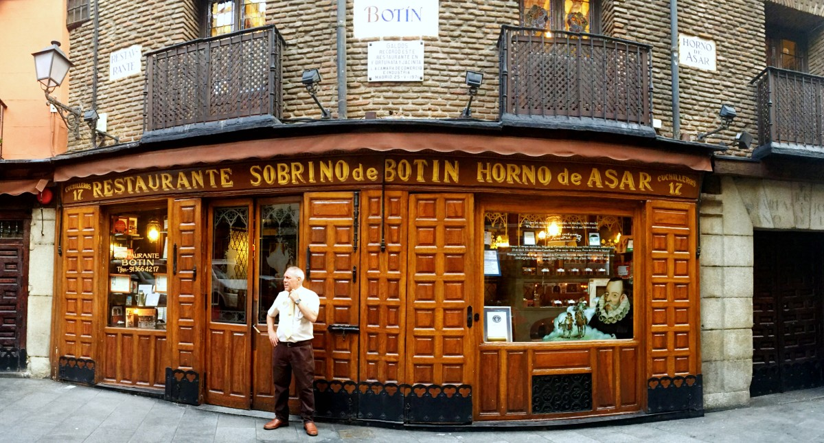 The oldest restaurant in the world! Best tapas in Madrid.