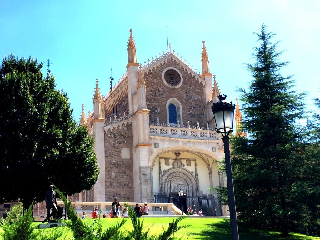 Cathedral near the Prado