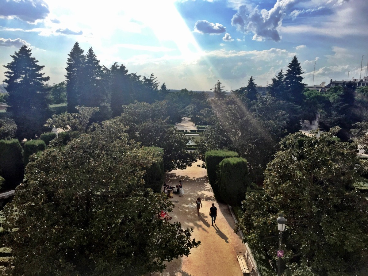 Palace Gardens! Madrid