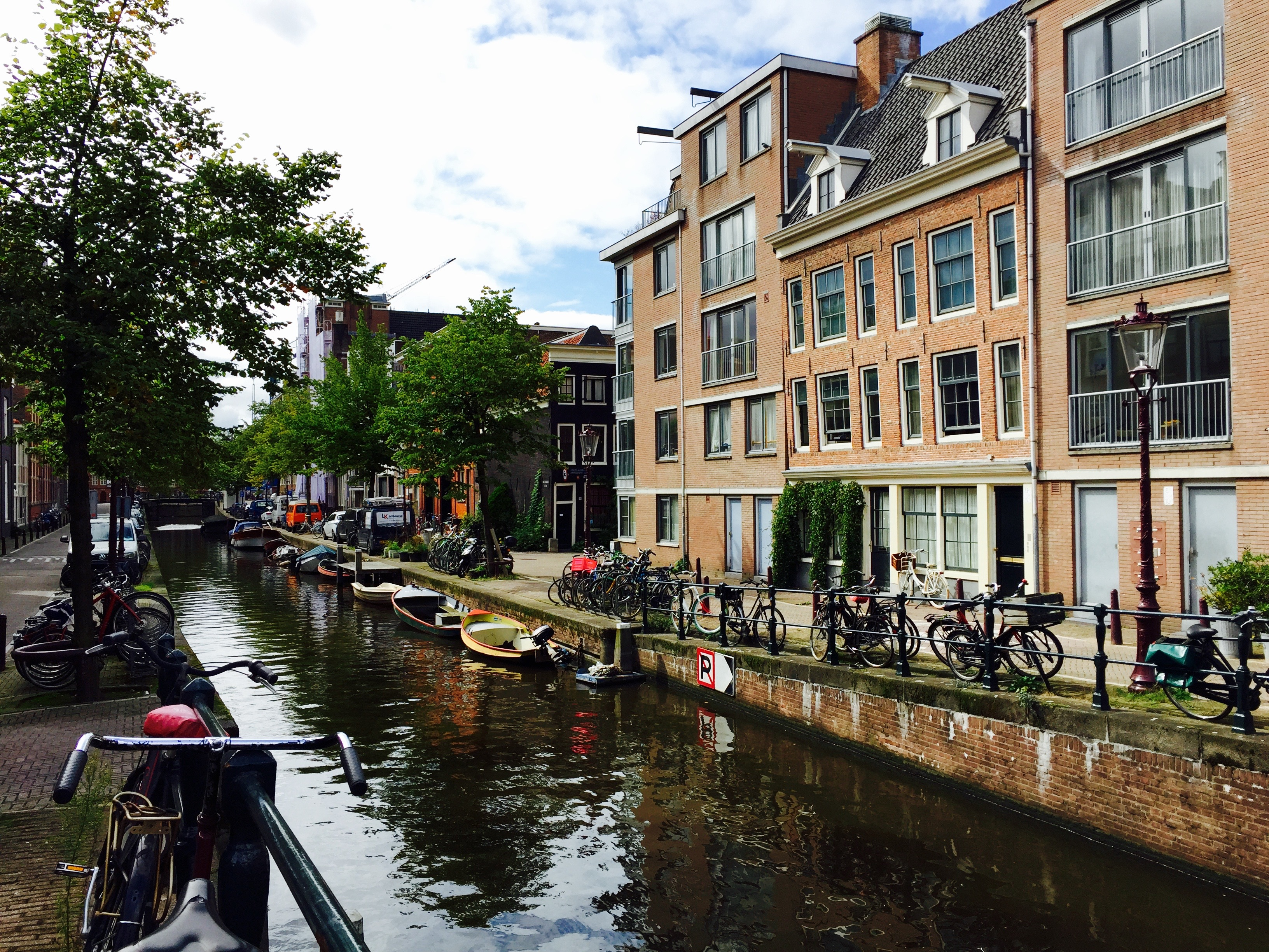 Canals in the Jordaan. What to do in Amsterdam.