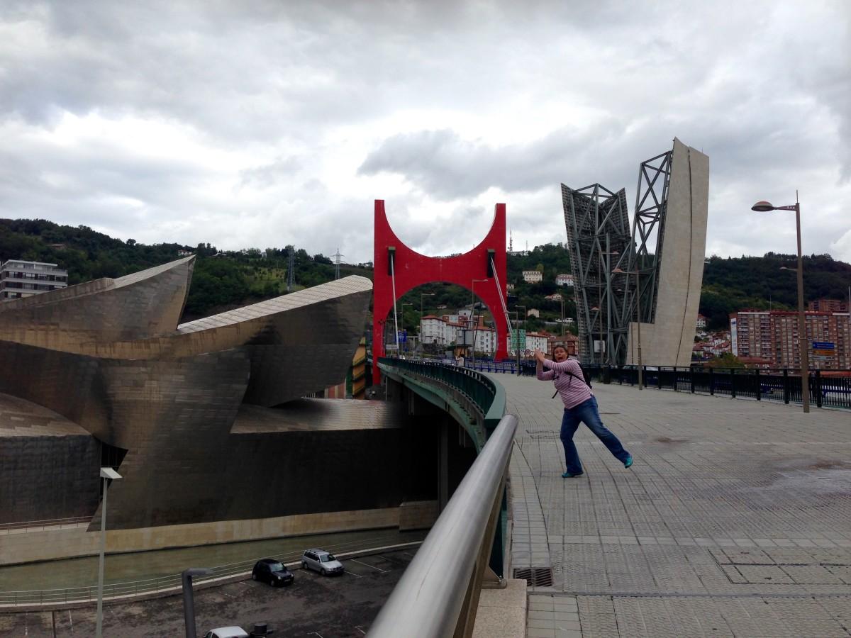 Els photobombing! Bilbao
