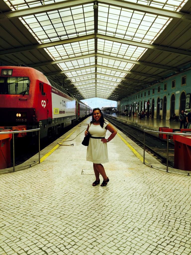 I love train stations, Lisbon