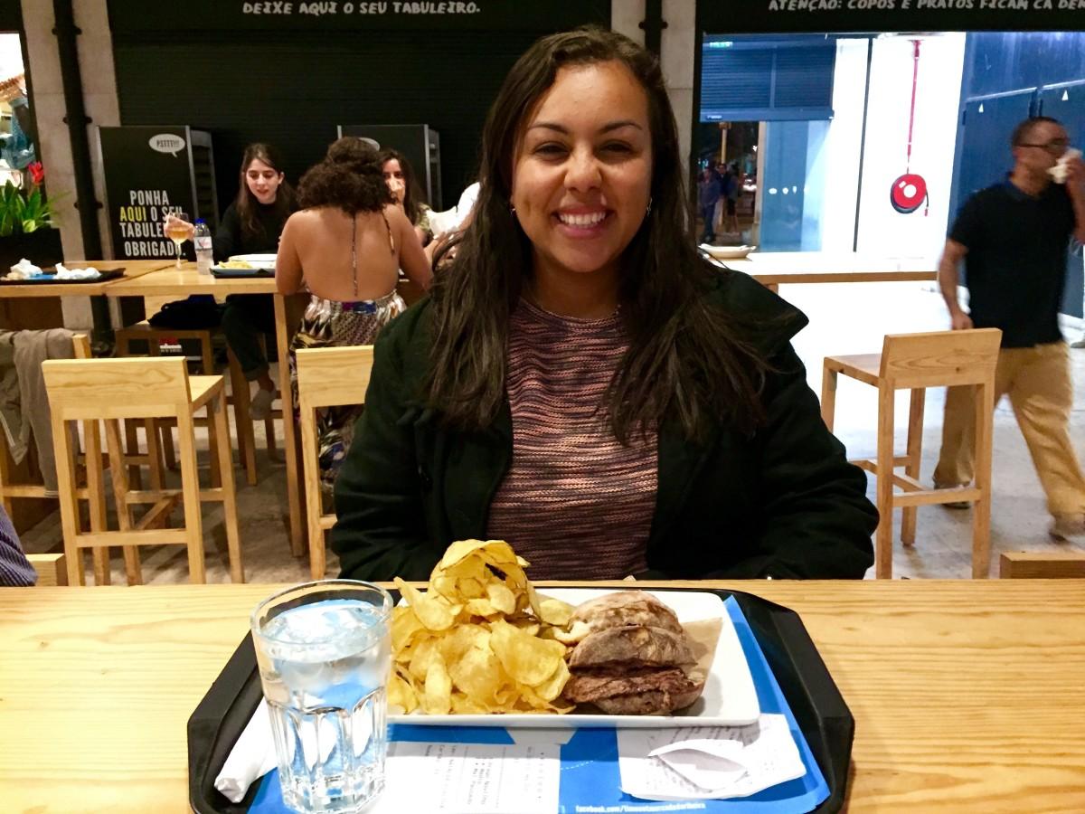 Winter wear (my new coat!) + dinner, Lisbon
