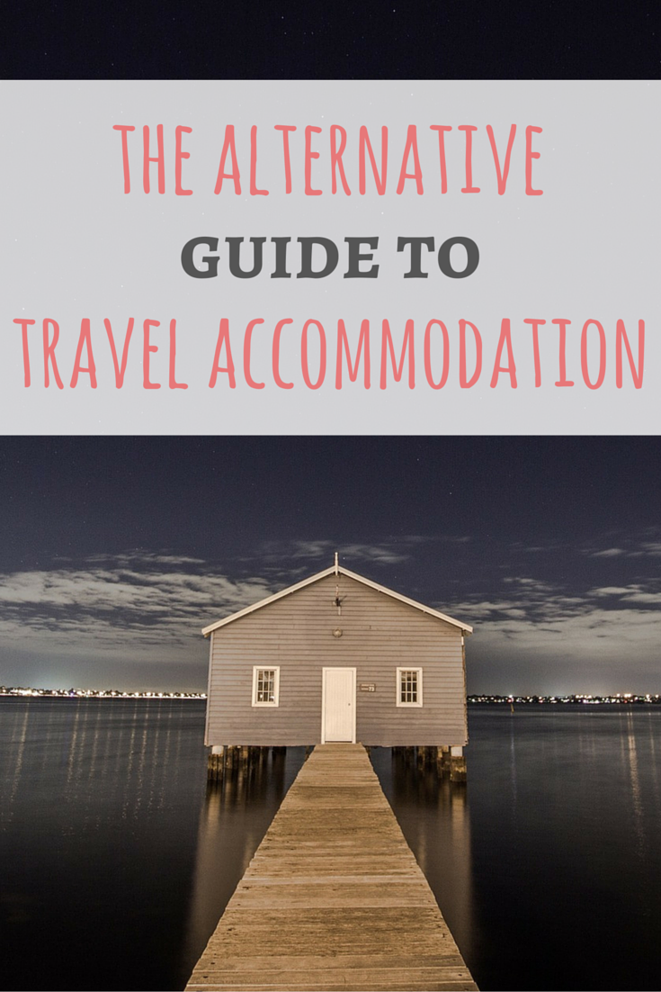 Hotels are no longer the only places to stay when traveling. The guide to alternative accommodation shows you what other local options are out there! Read more on Passport and Plates!