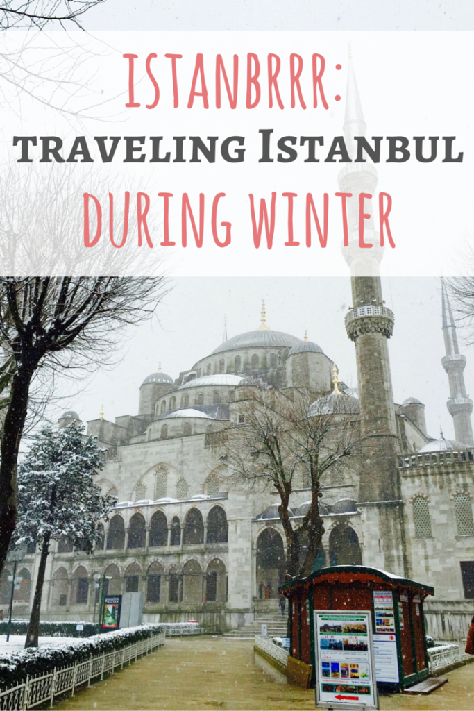 Traveling Istanbul during a snowy winter definitely has its unexpected challenges - but I still made the most of the trip! Check out this guide to visiting Istanbul in the winter on Passport & Plates!