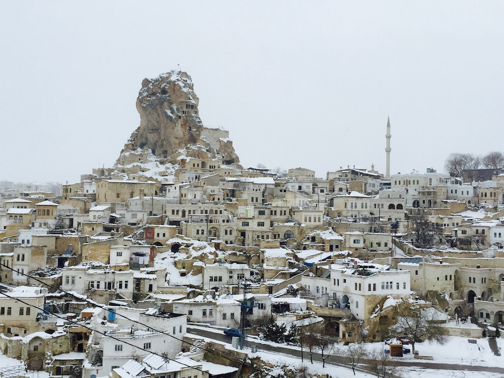 A Guide to Winter Travel in Cappadocia, Turkey from Passport & Plates | http://passportandplates.com Cappadocia images