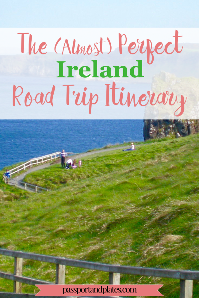 Although I'm a huge proponent of public transportation, Ireland is a country where a car is practically a necessity. Click to see out all the beautiful places to visit in the Best Ireland Road Trip itinerary! | http://passportandplates.com