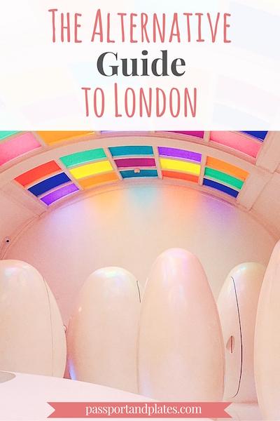 The Alternative Guide to London - Passport & Plates